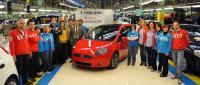 Elkészült az egymilliomodik Fiat Punto
