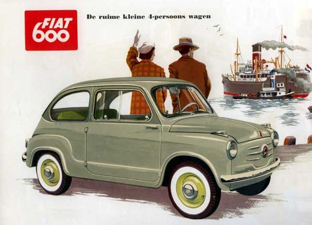 Fiat 600-as retrokép